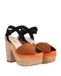 Prada Brown Sandals