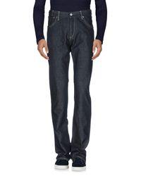 Paul Smith Blue Denim Trousers for men