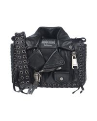 Moschino - Black Cross-body Bags - Lyst