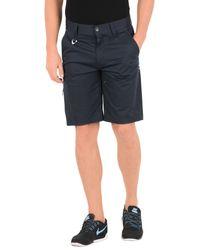 Oakley Blue Bermuda Shorts for men