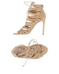 Casadei Natural Sandals
