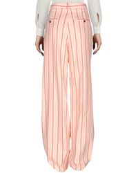 Paul & Joe Pink Casual Trouser
