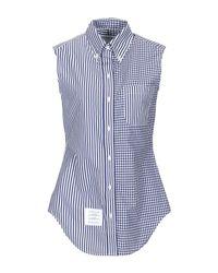 Thom Browne Blue Shirt