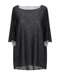 Ma+ Black Sweater