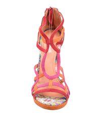 Desigual Orange Sandals