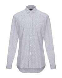 Camicia di Grey Daniele Alessandrini in Multicolor da Uomo
