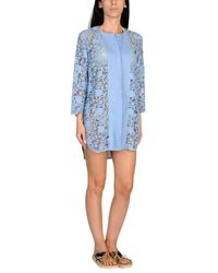 Ermanno Scervino Blue Beach Dress