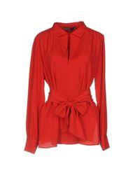 Blusa Space Style Concept de color Red