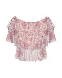 Blusa di Souvenir Clubbing in Pink