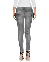 2W2M Gray Denim Pants