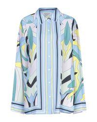 Silvian Heach Blue Hemd