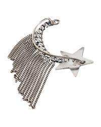 Emanuele Bicocchi Metallic Earring