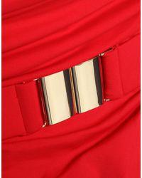 Maillot une pièce Melissa Odabash en coloris Red