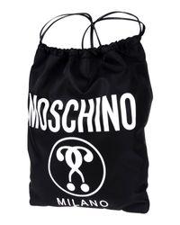 Moschino Black Backpacks & Bum Bags