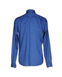 Robert Friedman Blue Shirt for men