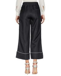 Erika Cavallini Semi Couture Black Casual Pants