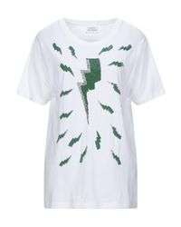 T-shirt di P.A.R.O.S.H. in White