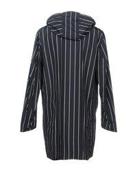 Mackintosh Blue Overcoat for men