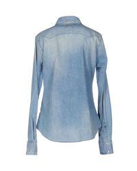 Meltin' Pot Blue Denim Shirt