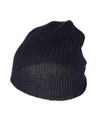 SPADALONGA Blue Hat for men