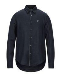 Emporio Armani Hemd in Black für Herren