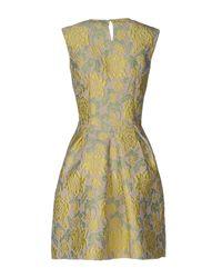 Ermanno Scervino Multicolor Short Dress