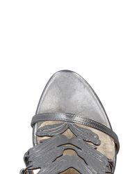Divine Follie Metallic Sandals