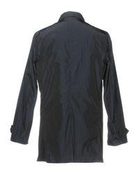 Scotch & Soda Blue Overcoat for men