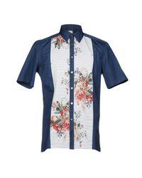 Antonio Marras Blue Shirts for men