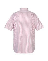Chemise Lacoste pour homme en coloris Pink
