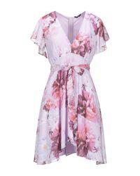 Marciano Purple Short Dress
