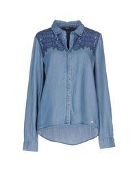 ONLY Blue Denim Shirt