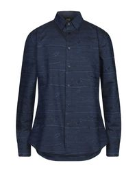 Class Roberto Cavalli Hemd in Blue für Herren