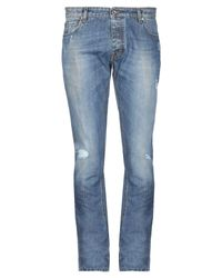 40blues Blue Denim Pants for men