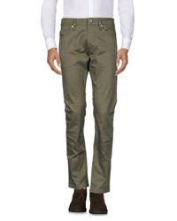 DIESEL Green Casual Trouser for men