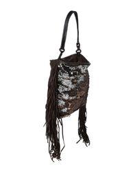 Caterina Lucchi Metallic Handtaschen