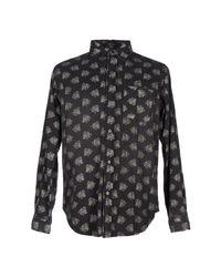 Current/Elliott - Gray Denim Shirts for Men - Lyst