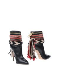 DSquared² Black Ankle Boots