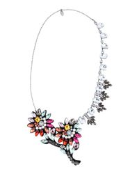 Twin Set - Metallic Necklace - Lyst