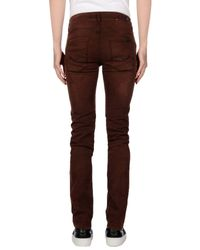7 For All Mankind Brown Denim Trousers for men