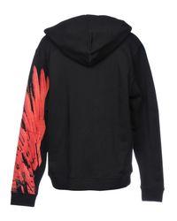 Marcelo Burlon Black Sweatshirt for men