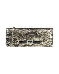 Tosca Blu Metallic Handbag