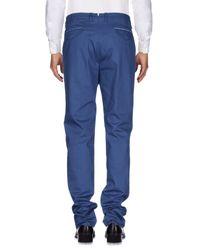 Loro Piana Blue Casual Pants for men