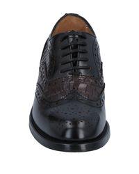Lo.white Black Lace-up Shoe