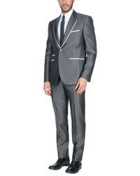 Carlo Pignatelli Gray Suit for men