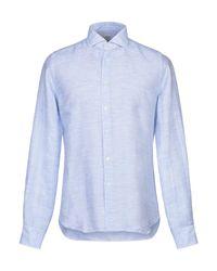 Camicia di Xacus in Blue da Uomo