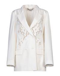 Stella McCartney White Suit Jacket