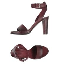 Roberto Del Carlo Purple Sandals