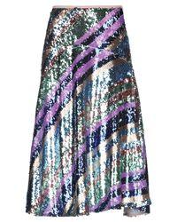 Jupe mi-longue Essentiel Antwerp en coloris Purple