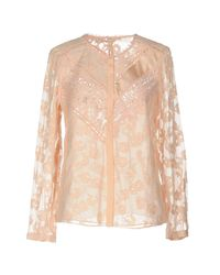 Rebecca Taylor Pink Shirt